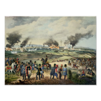 Siege of Vienna, 28th October 1848 Poster