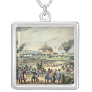 Siege of Vienna, 28th October 1848 Silver Plated Necklace