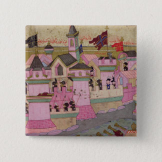 Siege of Vienna by Suleyman I  the Magnificent Button
