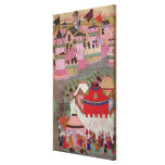Siege of Vienna by Suleyman I  the Magnificent Canvas Print