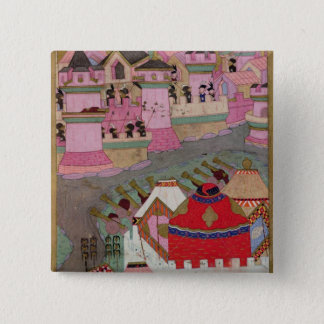 Siege of Vienna by Suleyman I  the Magnificent Pinback Button