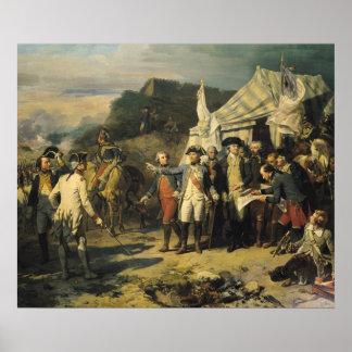 Siege of Yorktown, 17th October 1781, 1836 Poster