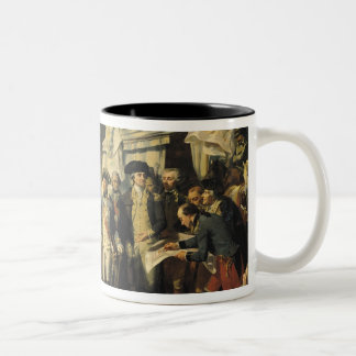 Siege of Yorktown, 17th October 1781, 1836 Two-Tone Coffee Mug