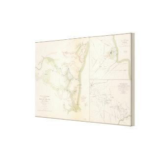 Siege of Yorktown Canvas Print