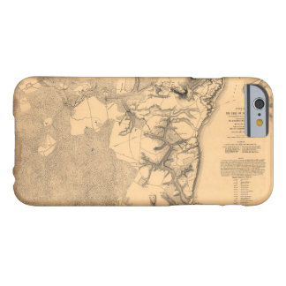 Siege of Yorktown Virginia Civil War Map (1862) Barely There iPhone 6 Case