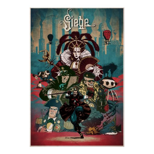Siege Posters