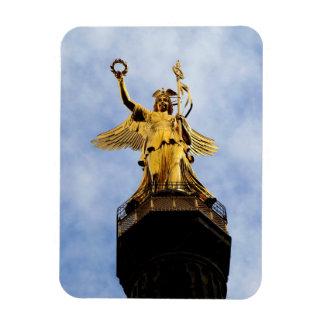 Siegessäule, Berlín, Alemania Imán Rectangular