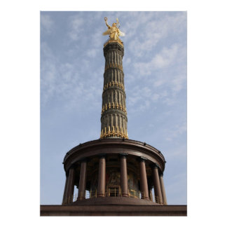 Siegessäule Berlín Posters