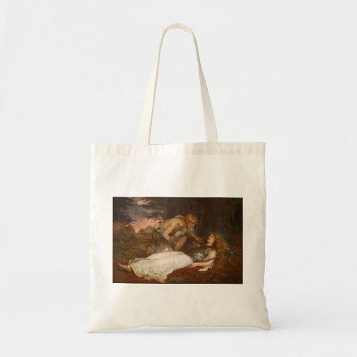 Siegfried and Brunhilde by Charles Ernest Butler Budget Tote Bag