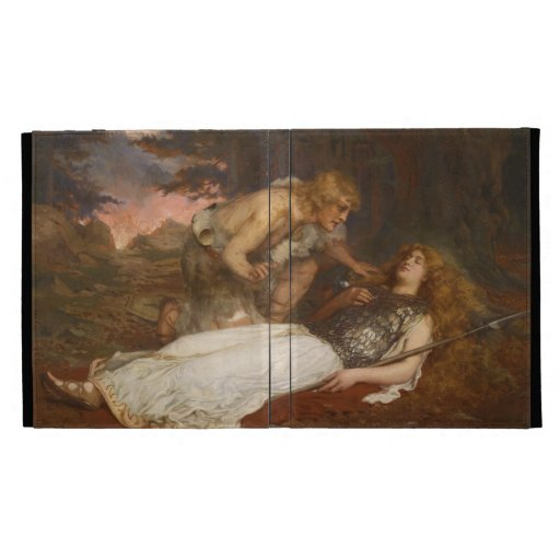 Siegfried and Brunhilde by Charles Ernest Butler iPad Case