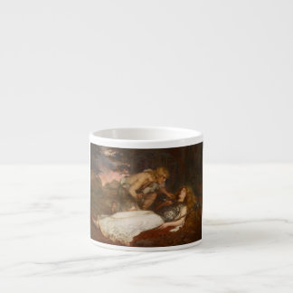 Siegfried and Brunhilde by Charles Ernest Butler Espresso Cup