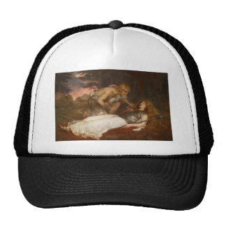 Siegfried and Brunhilde by Charles Ernest Butler Mesh Hats