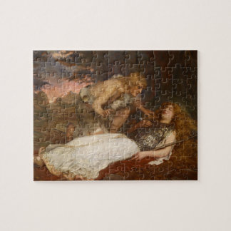 Siegfried and Brunhilde by Charles Ernest Butler Jigsaw Puzzle