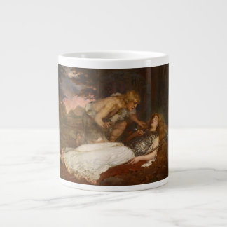 Siegfried and Brunhilde by Charles Ernest Butler Large Coffee Mug