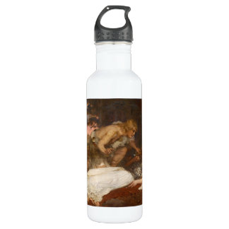 Siegfried and Brunhilde by Charles Ernest Butler Stainless Steel Water Bottle