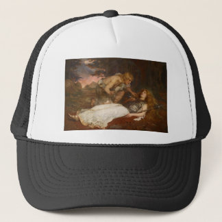 Siegfried and Brunhilde by Charles Ernest Butler Trucker Hat