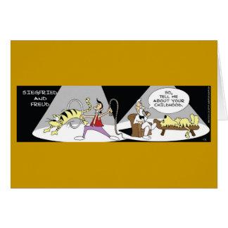 Siegfried and Freud Card