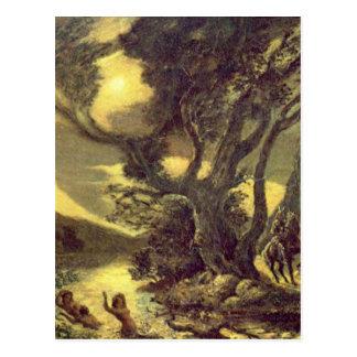 Siegfried And The Rhine Maidens Postcard