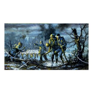 Siegfried Line at Campholz Woods print