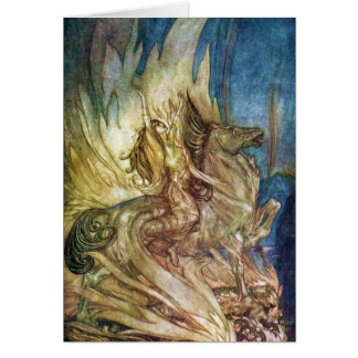 Siegfried & The Twilight of the Gods by A Rackham Card