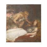Siegfried y Brunilda del mayordomo de Charles Erne Blocs De Notas