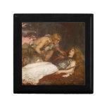 Siegfried y Brunilda del mayordomo de Charles Erne Caja De Joyas