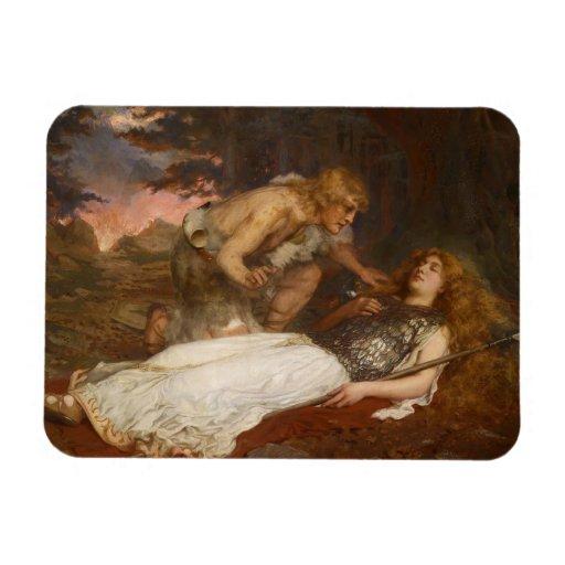 Siegfried y Brunilda del mayordomo de Charles Erne Iman