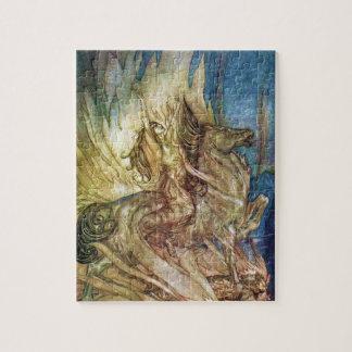Siegfried y el crepúsculo de dioses por un Rackham Rompecabeza
