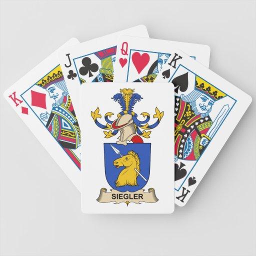 Siegler Family Crest Card Decks