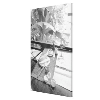 Siem Reap Cambodia, Continental Breakfast Canvas Print