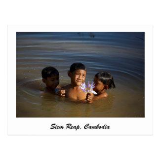 Siem Reap, Cambodia postcard