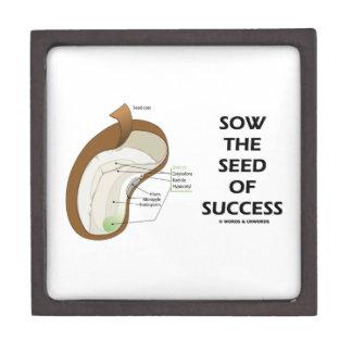 Siembre la semilla del éxito (el humor de la anato cajas de regalo de calidad