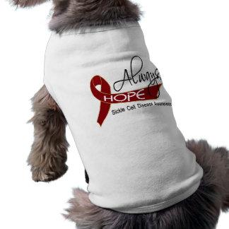 Siempre anemia de células falciformes de la espera camisa de perro