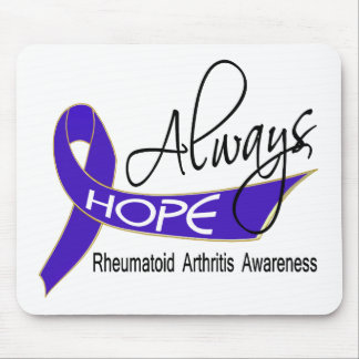Siempre artritis reumatoide de la esperanza tapete de raton