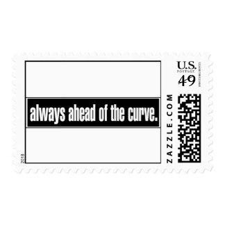 Siempre delante de la curva sello