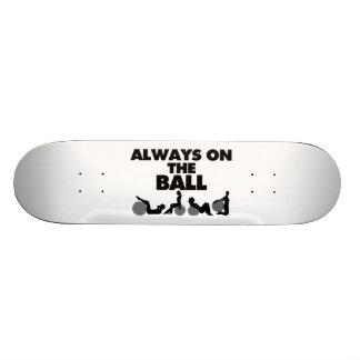 Siempre en la bola tablas de patinar