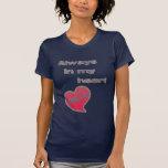 Siempre en mi corazón MJ Camisetas