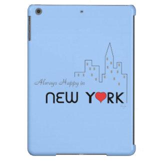 Siempre feliz en Nueva York Funda Para iPad Air