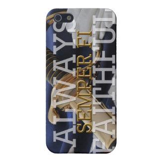 Siempre fiel - caso de Semper Fi IPhone iPhone 5 Protector
