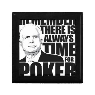 Siempre hora para el póker cajas de recuerdo