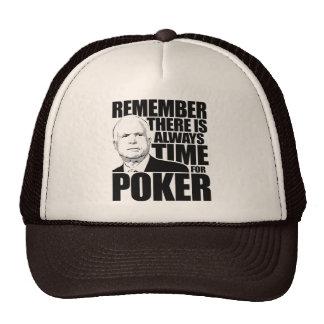 Siempre hora para el póker gorros