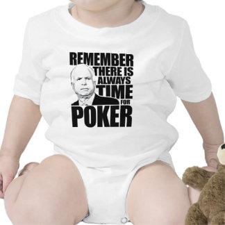 Siempre hora para el póker trajes de bebé