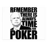 Siempre hora para el póker postal