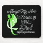 Siempre mi héroe en el papá de la memoria - linfom alfombrillas de raton
