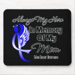 Siempre mi héroe en mamá de la memoria - cáncer de alfombrilla de ratones