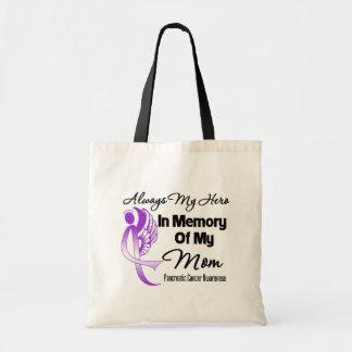 Siempre mi héroe en mamá de la memoria - cáncer pa bolsas