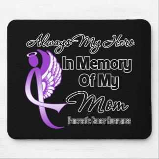 Siempre mi héroe en mamá de la memoria - cáncer pa alfombrillas de raton