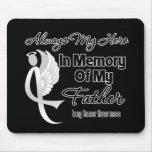 Siempre mi héroe en padre de la memoria - cáncer d alfombrilla de ratón