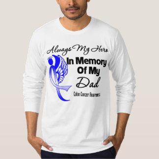 Siempre mi héroe en papá de la memoria - cáncer de camisas