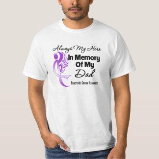 Siempre mi héroe en papá de la memoria - cáncer playeras